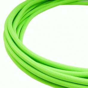 Cavo rivestito in tessuto - Verde