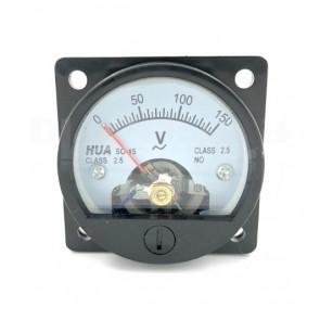 Voltometro Analogico da Pannello 0-150V CA