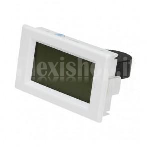 Voltometro e amperometro AC digitale da pannello, 300V / 50A, TA fisso