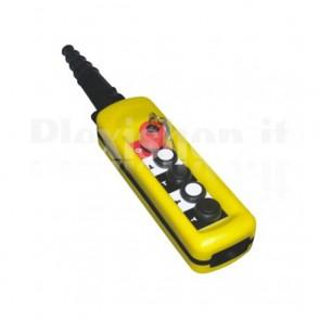 Comando Pensile 4 pulsanti + emergenza a chiave - Doppia velocità