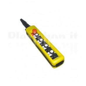 Comando Pensile 8 pulsanti + Emergenza - Velocità singola