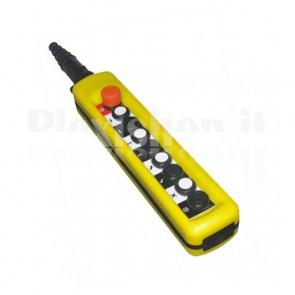 Comando Pensile 8 pulsanti + Emergenza - Doppi contatti
