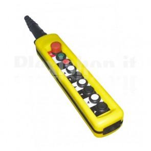 Comando Pensile 8 pulsanti + Emergenza - Contatti misti