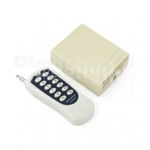 Kit telecomando ricevitore 12 canali 12V