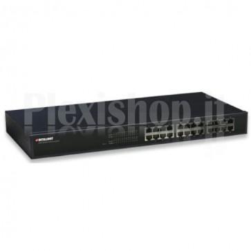 Switch Ethernet 24 porte 10/100Mbps da rack 19'