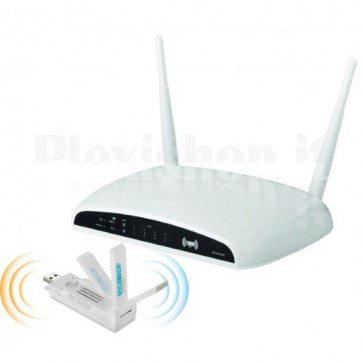 Kit Router e Adattatore USB3.0 Wireless 1200 AC Dual Band Gigabit
