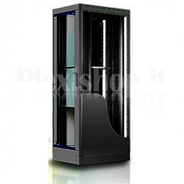 "Armadio Server Rack 19"" 600x1000 27 Unita' Nero serie Top"