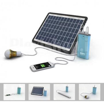 Sistema fotovoltaico 10W portatile