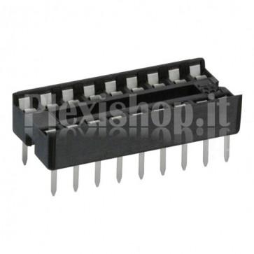 Zoccolo per circuito integrato 18 Pin