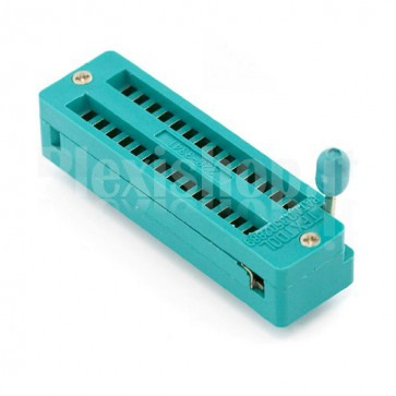 Zoccolo ZIF 28 pin 228-3341
