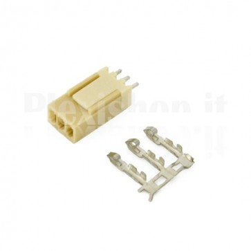 50 Connettori PCB 3 vie 2,54mm