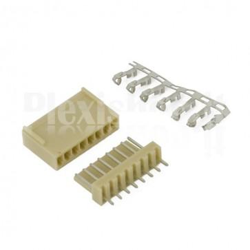 Connettori PCB 8 vie 2,54mm