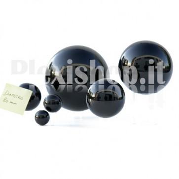 80 mm Black Acrylic sphere