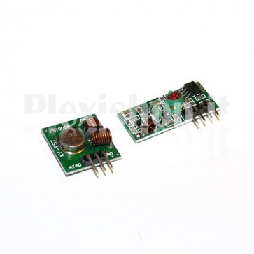 Kit ricetrasmettitore RX TX 433MHz