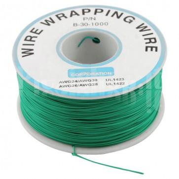 Bobina Cavo wire/wrapping 30AWG - Verde