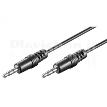 Cavo Audio Stereo Jack 3.5 mm M/M 1,8 mt.