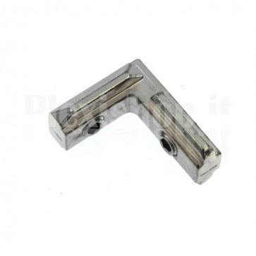Connettore angolare per profilati T-Slot 4545