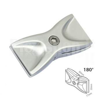 180° Connector for partition walls