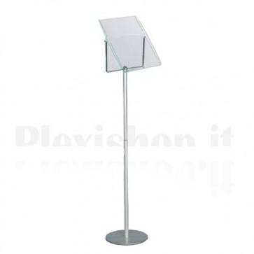 Freestanding Floor Display A4 Oblique