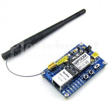 Kit di sviluppo e valutazione WIFI232 per protocolli seriali UART