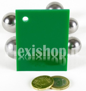 Green 5 ACRIDITE 234 Plexiglass
