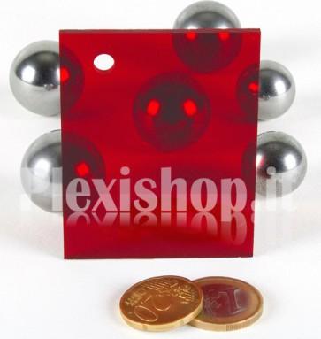 Red 1 ACRIDITE 320 Plexiglass