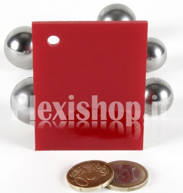 Red 2 ACRIDITE 332 Plexiglass