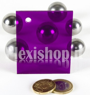 Purple 1 ACRIDITE 420 Plexiglass