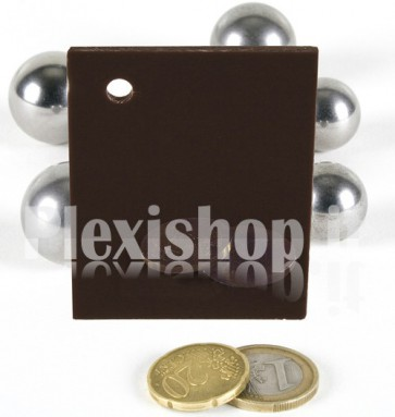 Brown 2 ACRIDITE 855 Plexiglass