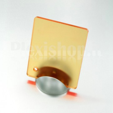 Orange Satin Plexiglass