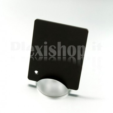 Black Satin Plexiglass