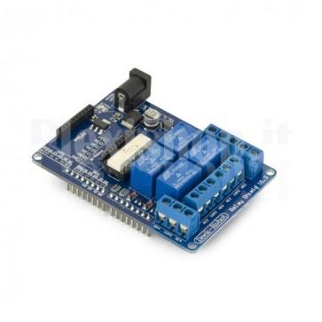 Modulo 4 relè schermati per Arduino