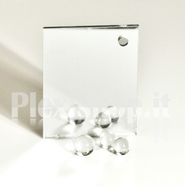 Silver Mirrored Acrylic glass