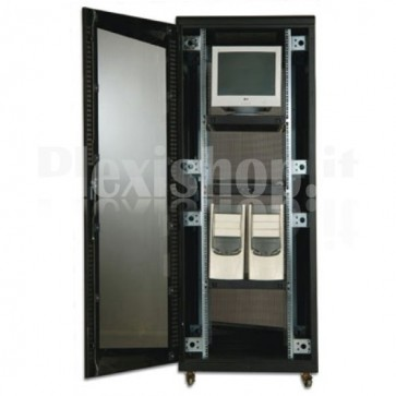 "Armadio Rack 19"" 800x800 42 Unita' Nero"