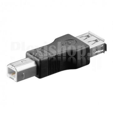 Adattatore USB 2.0 A Femmina / B Maschio