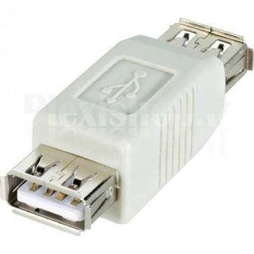 Adattatore USB 2.0 A femmina/A femmina