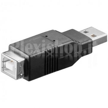 Adattatore USB 2.0 A Maschio / B Femmina