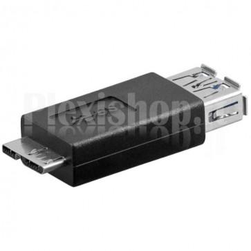 Adattatore USB 3.0 A Femmina / Micro B Maschio
