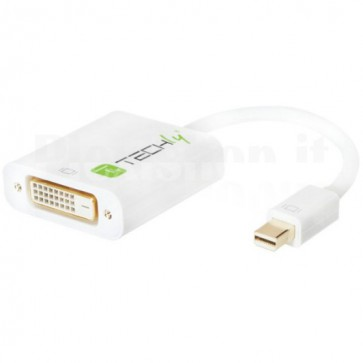 Adattatore Mini DisplayPort (Thunderbolt) 1.2 / DVI 15cm Bianco
