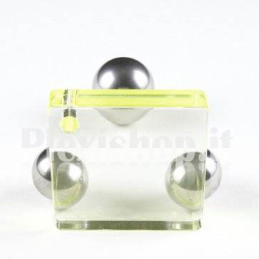Yellow Soft Fluo Plexiglass