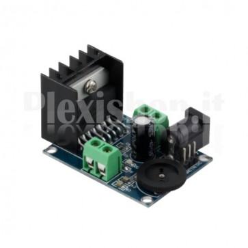 Amplificatore audio stereo 15+15W con TDA7297