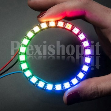 Led Ring Ø 65 mm NeoPixel RGB with 24 WS2812 SMD LED