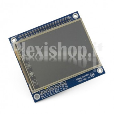 "LCD 2.4"" Display Touchscreen TFT01 compatible with Arduino"