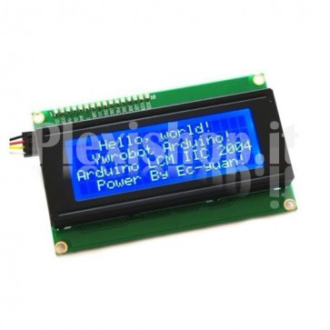 LCD Display LCD2004A - Blue