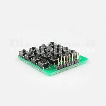 Modulo Tastiera 4x4