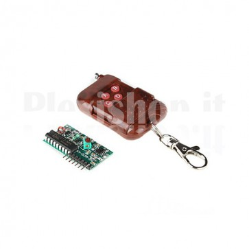 Modulo 2262/2272 Wireless, KIT di ricetrasmettitore in RF