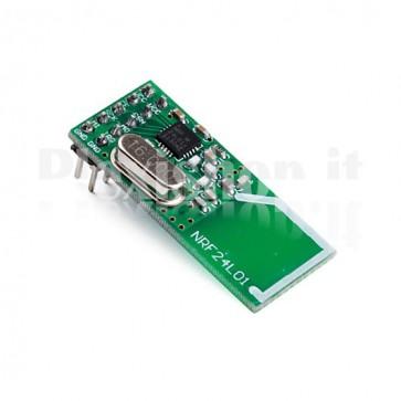 Modulo nRF24L01, Trasmettitore/ricvevitore a 2.4GHz