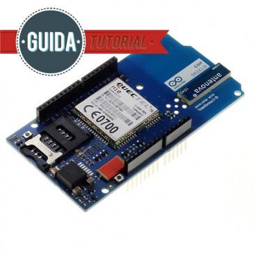 Arduino GSM Shield (con antenna integrata)
