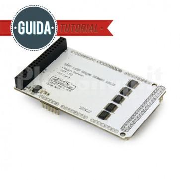 Arduino Mega Shield v2.0 per LCD TFT01