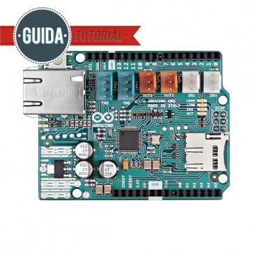 Arduino Ethernet Shield 2 SENZA modulo PoE